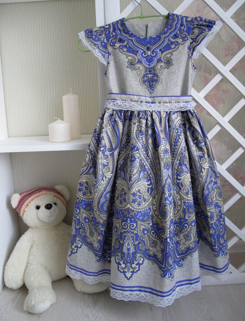 Шью платье для дочки (курс Натальи Бодиной)